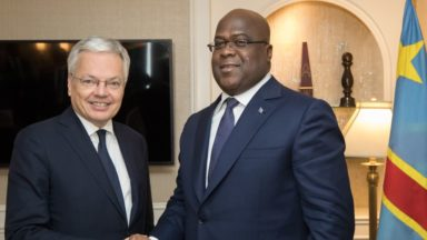 Le président congolais Félix Tshisekedi rencontrera Didier Reynders à Bruxelles