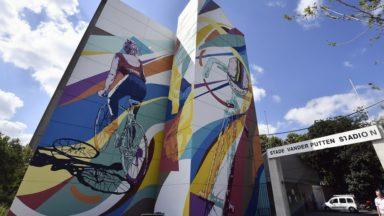 Bruxelles : une fresque du parcours Street Art met à l'honneur Eddy Merckx et Yvonne Reynders
