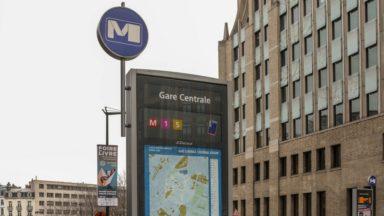 La station de métro de la gare Centrale sera en travaux dès la rentrée 2020