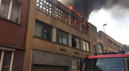 Incendie Molenbeek 25072019 - Walter Derieuw