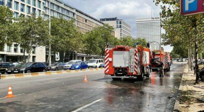 Louise - Pompiers Fuite hydrocarbure - Philippe Jacquemotte