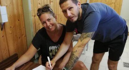 Nicolas Timmermans - FC Ganshoren Signature - Facebook