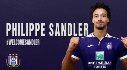 Philippe Sandler - RSC Anderlecht - NE PAS REUTILISER