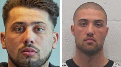 Police fédérale - Avis de recherche Salvatore Tardanico et Giovanni Pirrello