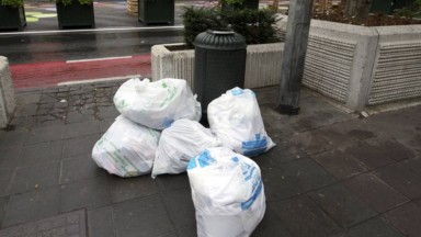 Les perturbations des collectes des sacs-poubelle blancs et jaunes se poursuivent