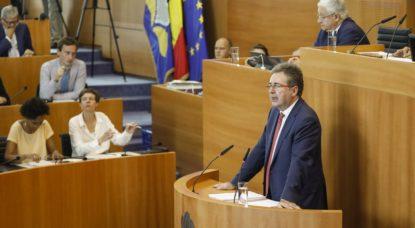 Rudi Vervoort - Parlement bruxellois - Belga Thierry Roge
