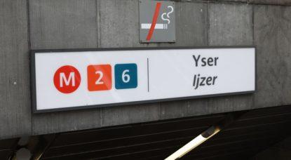 Station de métro Yser - Belga Paul-Henri Verlooy