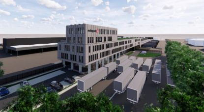 Swissport Pharma Center - Projection Swissport