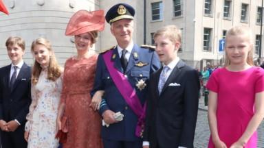 Fête nationale : plus de 1.000 personnes sont allées voir la famille royale au Te Deum
