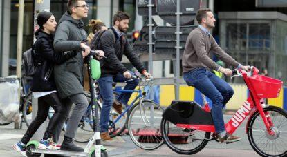 Trottinette Lime - Vélo Jump - Belga Eric Lalmand