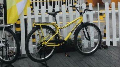 Le vélo volé dans la Fan zone du Tour de France à Bruxelles a été retrouvé