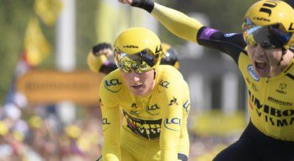 Victoire jumbo-Visma - 2e étape Tour de France 2019 - Belga Yorick Jansens