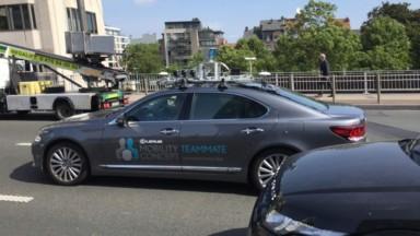Une voiture autonome testée dans les rues de Bruxelles : une première européenne