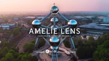 Set de la DJ belge Amelie Lens le 15 juillet à l'Atomium
