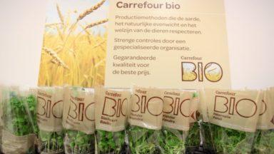 Carrefour inaugure sa première enseigne bio belge à Bruxelles