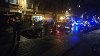 Schaerbeek : délit de fuite après un accident chaussée de Helmet, une persone blessée