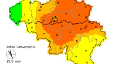 Vague de chaleur : le seuil européen d'information pour les concentrations d'ozone dépassé ce vendredi