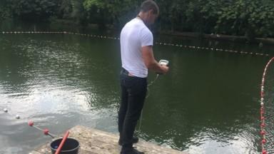 Watermael-Boitsfort : la baignade à l'étang des Pêcheries est annulée