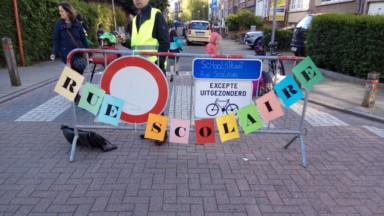 """Schaerbeek crée deux nouvelles """"rues scolaires"""""""