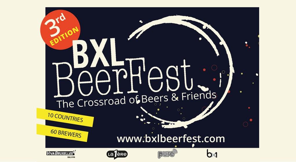 Affiche BXLBeerFest 2019 - Tour et Taxis