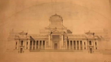 Tout le monde les pensait perdus : les plans du palais de justice de Bruxelles ont été retrouvés