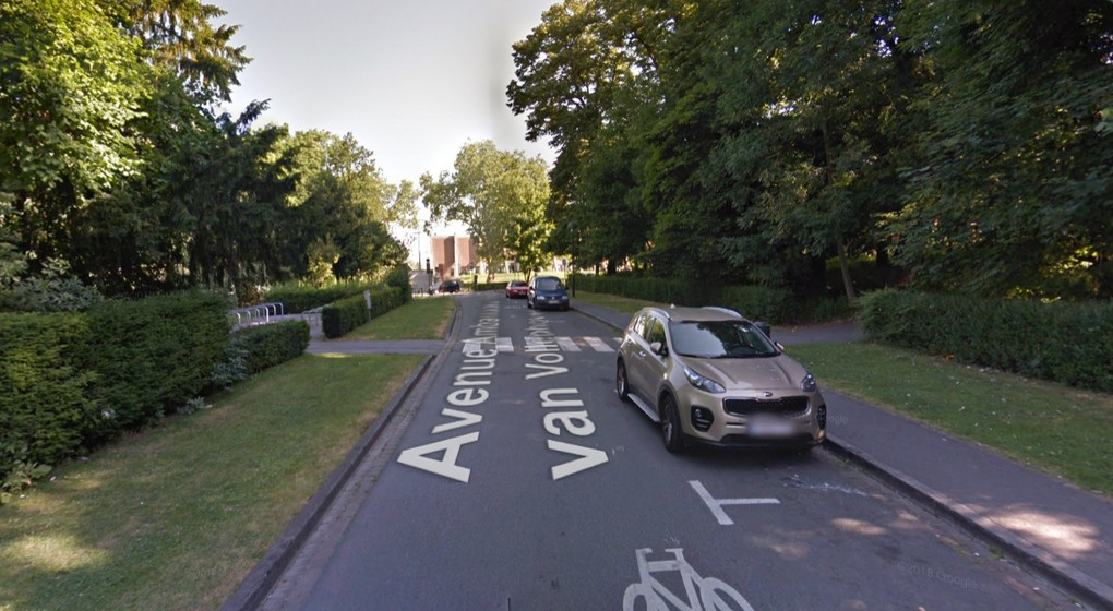 Avenue Ambassadeur Van Vollenhoven - Schaerbeek - Google Street View