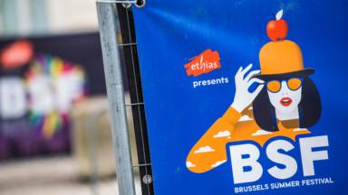 Brussels Summer Festival : une place des Palais à moitié remplie pour le concert de Booba