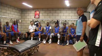 Basket - Brussels Entraînement 11082019