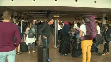 Ce vendredi était la journée la plus chargée de l'année pour Brussels Airport