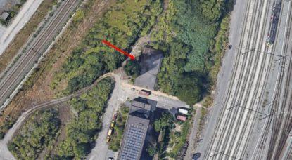 Bunker Gare Schaerbeek-Formation - Infrabel - Google Street View