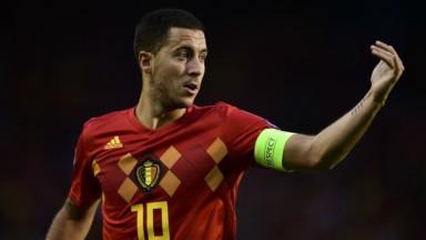 Le premier match du championnat d'Espagne d'Eden Hazard retransmis sur écran géant à l'Atomium