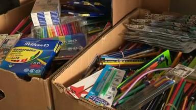 L'ASBL Arc-en-ciel collecte du matériel scolaire pour les défavorisés