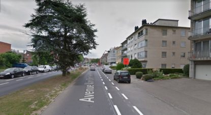 Ganshoren - Avenue Van Overbeke - Google Street View