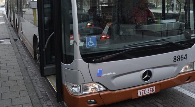 Illustration Bus STIB - Belga Dirk Waem