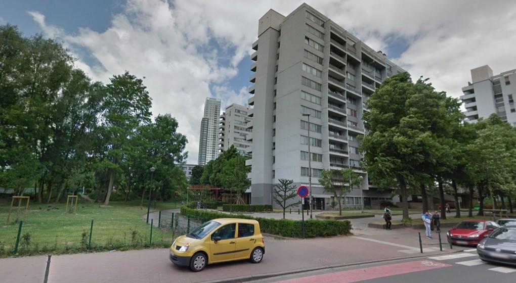Immeubles chaussée d'Anvers - Parc Maximilien - Google Street View