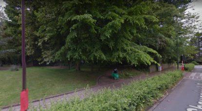 Ixelles - Bois des Commères - Google Street View