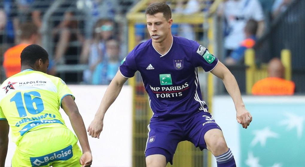 James Lawrence - RSC Anderlecht - Belga Virginie Lefour