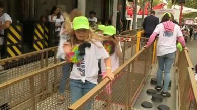 Foire du Midi : une centaine d'enfants malades invités pour une journée de fête