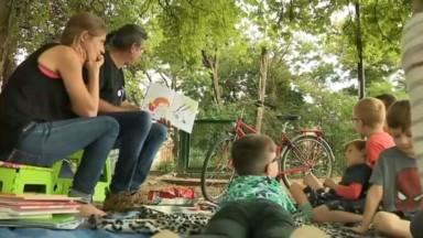 Lire dans les parcs : une action pour redonner le goût de la lecture aux plus jeunes