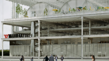 Le bureau d'architecte Baukunst choisi pour la conception de la Manufakture aux Abattoirs