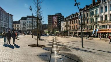Etterbeek : il n'y a déjà plus d'eau dans les fontaines Place Jourdan