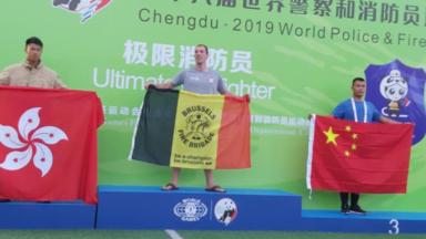 Jeux mondiaux des pompiers : le meilleur pompier du monde est bruxellois