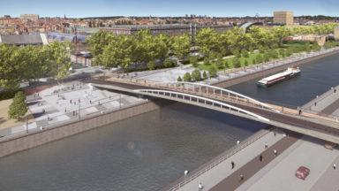"""La partie principale du futur pont """"Suzan Daniel"""" sera installée ce samedi"""