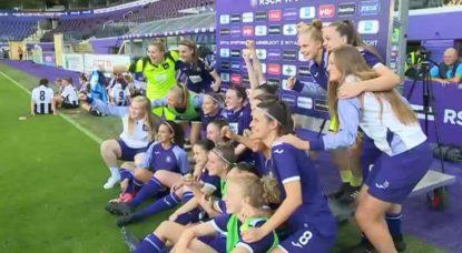 RSC Anderlecht - Ligue des Champions Dames - Victoire PAOK Salonique 07082019