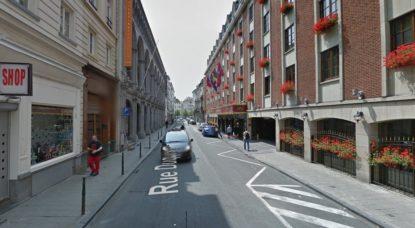 Rue Duquesnoy - Bruxelles - Google Street View