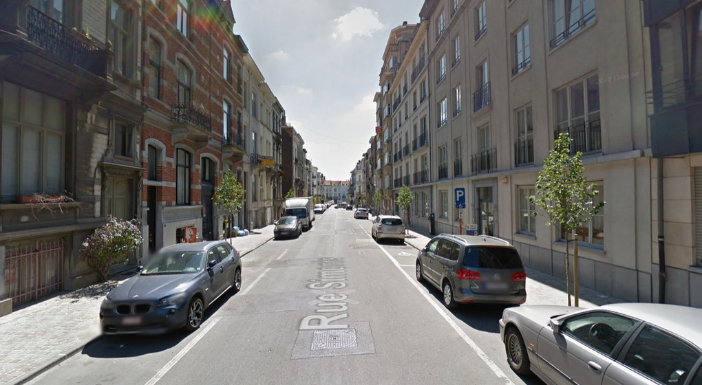 Saint-Gilles - Rue Simonis - Google Street View