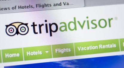 Site internet TripAdvisor - Belga Jonas Hamers