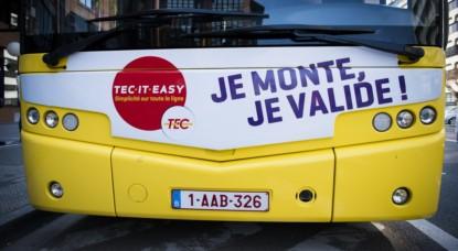 TEC Bus Transports en Commun - Belga Laurie Dieffembacq