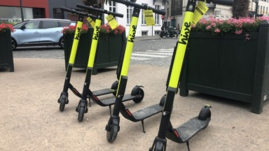 Evere va créer des espaces dédiés au stationnement des trottinettes