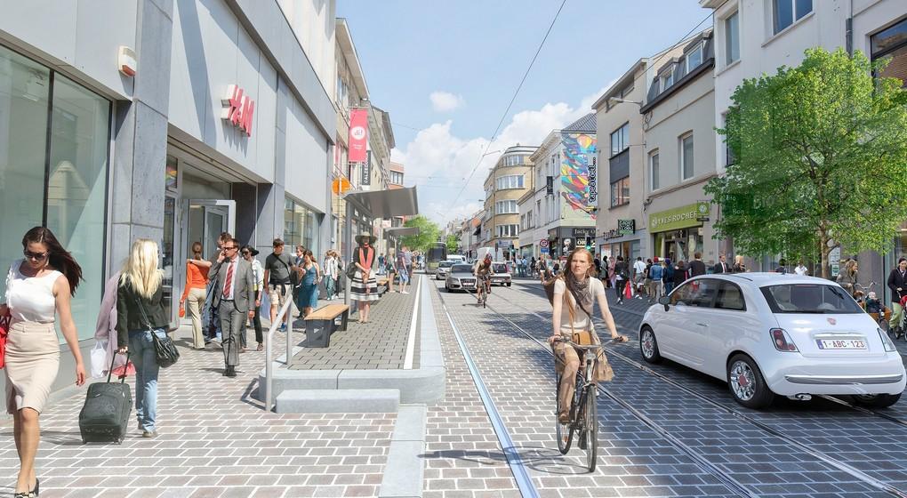 Uccle - Chaussée d'Alsemberg Réaménagement - Bruxelles-Mobilité